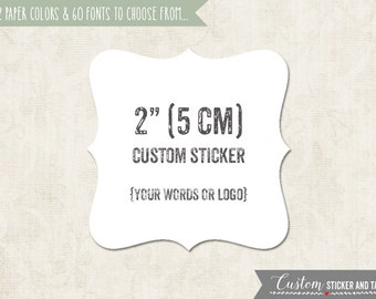 36 fancy square custom stickers with your words or logo, wedding favors, envelope seals, bracket stickers, fancy shape sticker (S-16)