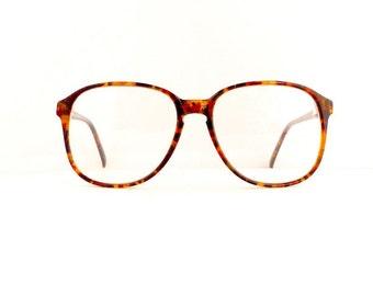 Nicolet Eyeglasses Frames Women's 1980's Tortoiseshell Frames Key Hole Deadstock NOS #M347 DIVINE