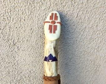 Southwest Walking Stick -  OOAK