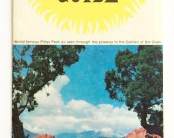 Vintage Colorado Info Pamphlets . 3 in Total . Ephemera . Tourist . Royal Gorge . Cheyenne . Colorado Springs . Set 1 Co