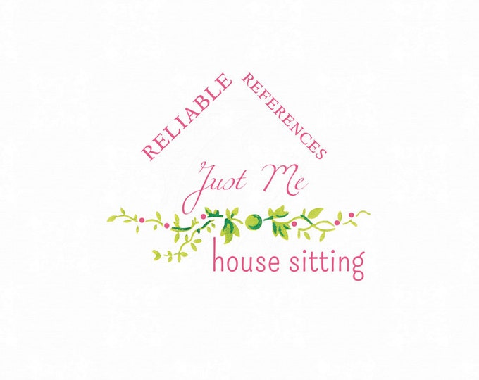 Premade House Sitting Logo