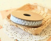 Grey OYSTER Divine Twine 20yd Reel 4-ply cotton bakers twine string
