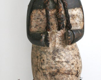 African Ambete Mbete Carved Reliquary Statue - FREE SHIPPING - Payment Plan Available