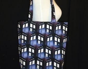 Doctor Who Tote Bag - TARDIS Tote Bag