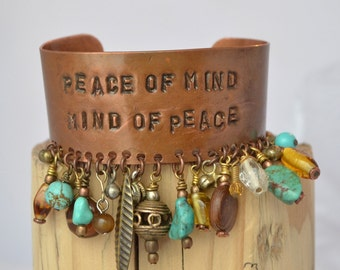 Price Redux peace of mind/mind of peace CUFF/Bracelet