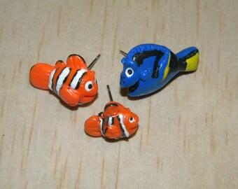 Finding Dory Inspired Fish Earrings