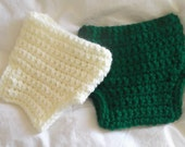 RED, Kelly GREEN or IVORY....Diaper Cover.....4 sizes...Newborn, 0 to 3 Month, 3 to 6 Month & 6 to 9 Month...Photo Prop..Ship in 3 to 5 Days
