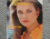 Vogue Patterns Magazine  May/June 1979  76 Pages of Fashion Photography, Ads, and Articles