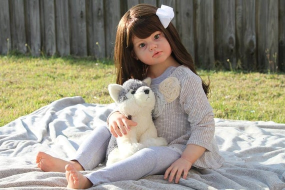 Custom Reborn Toddler Child Size Doll Angelica By Reva