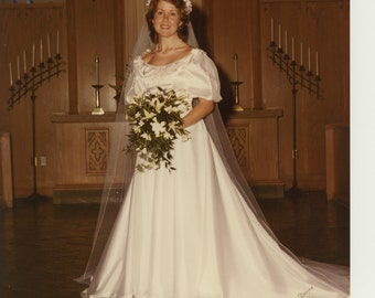 Vintage 1980s Wedding Dresses