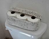Spare Roll Holder Toilet Tissue Basket Bathroom Decoration Home Decor Custom Colors