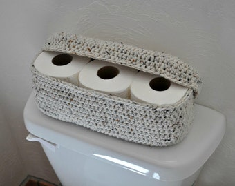 Spare Roll Holder Toilet Tissue Basket Bathroom Decoration Home Decor Custom Colors