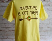 adventure is out there, adventure is out there shirt, wilderness explorer shirt, adventure, disney shirt, Up movie, carl and ellie