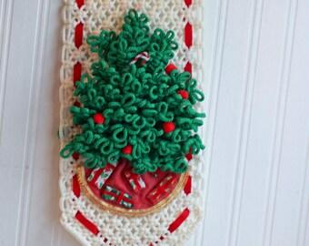 Wall Hanging Christmas Tree macrame christmas | etsy
