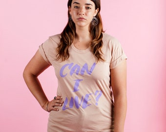 SALE: Can I Live? pastel tee