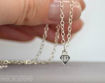 Peedie Diamond Pendant