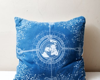 Celestial Navigation Pillow