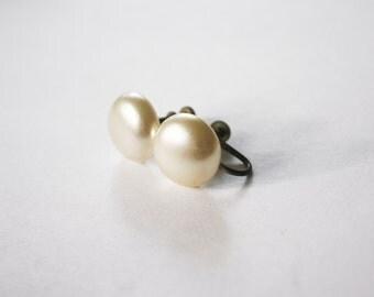 Vintage Pearl Ear Screws