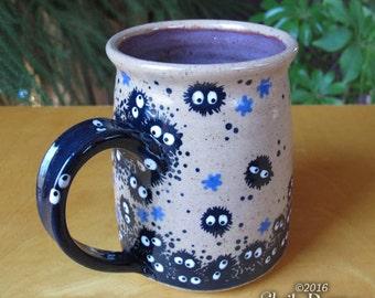 Soot Sprite Mug - stoneware coffee cup