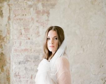 Fine Tulle Wedding Veil, Bridal Veil, Single Tier Veil, Soft Tulle Wedding Veil,