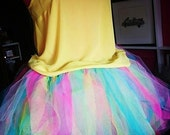 Rave Brightly Coloured Adult Tutu Costume Skirt, Great for Party, Holiday, Hen Do, Halloween Fun, Fabulous and Unique