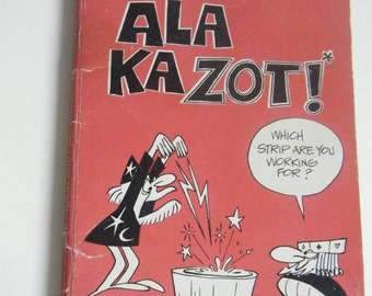 The Wizard of Id Ala Kazot by Johnny Hart and Brant Parker 1979 comic book humor book