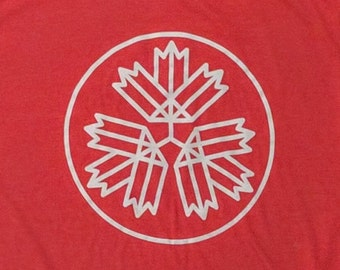 67 Leaves t-shirt - Heather Red
