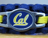 Cal Berkeley Bracelet, Paracord Bracelet, Survival Bracelet