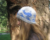 Cute Blue Whale Hand Knit Hat