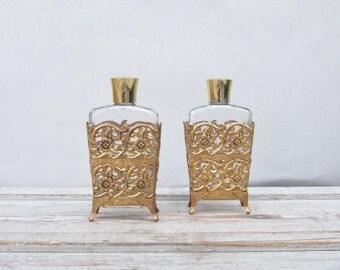 Filigree Perfume Bottles