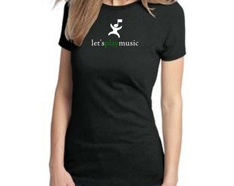 DM104L OFFICIAL Let's Play Music Shirt Womens Sizes