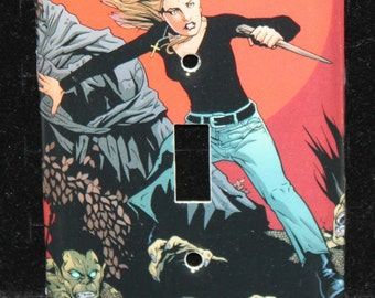 Buffy the Vampire Slayer Switch Plate Wallplate Light Cover