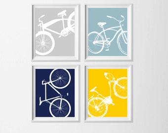 Bike wall art | Etsy