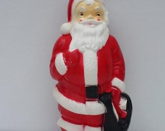Vintage Santa Claus St. Nick Kris Kringle Light Up Blow Mold Empire 1968 Christmas Holiday Indoor Outdoor Decor