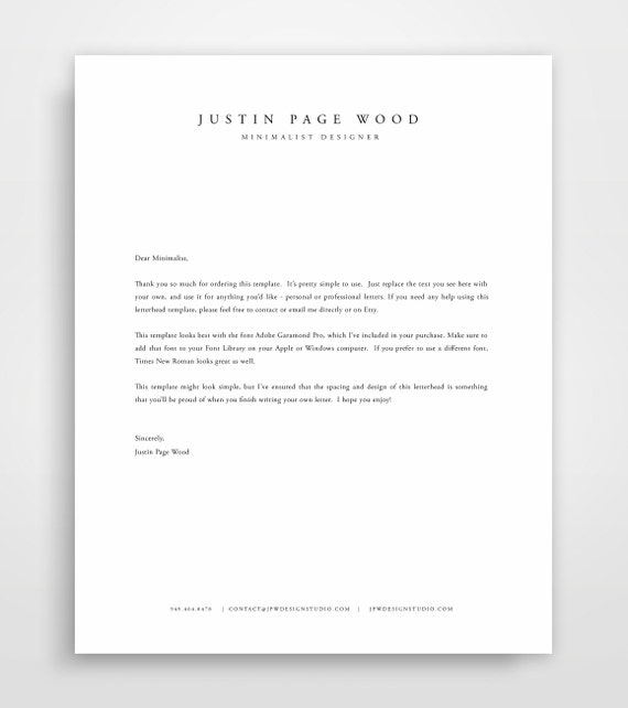 Elegant Professional Corporate Letterhead Template 000890: Briefkopf Vorlage Business Briefbogen Briefkopf Design