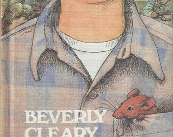 Ralph S. Mouse by Beverly Cleary Vintage Children's Book, C1982