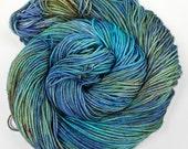 STARDUST Superwash Merino and Nylon Mini Skein hand dyed sock yarn