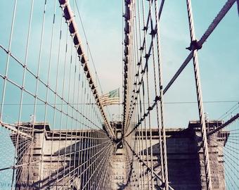 Brooklyn Bridge. New York City, NY.