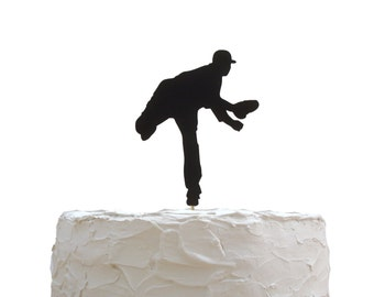 Baseball Cake Topper, Birthday Party Decoration, Baseball Theme Party Decor