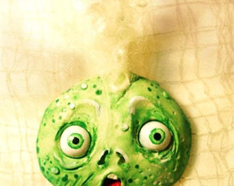 Zombie Ornament - Ghoul Ornament - Halloween Ornament - Halloween Gift