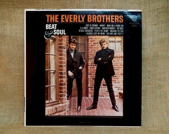 The EVERLY BROTHERS - Beat & Soul - 1965 Vintage Vinyl LP Record Album