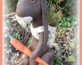 Primitive Easter, Prim Easter, Primitive rabbit, prim rabbit
