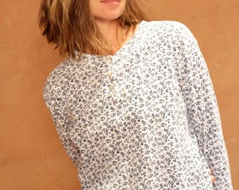 90s TWIN PEAKS floral GRUNGE long sleeve shirt