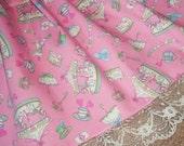 Sweet Circus Carousel Ponies Pastel Fairy Kei Lolita Skirt - ANY SIZE