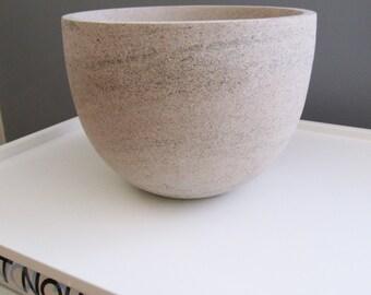 Alabama Limestone Tall Bowl