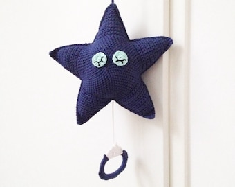Music Star Crochet Pattern - Instant Download