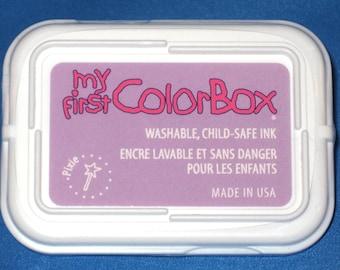 Lavender Kids Ink Pad, Light Purple Washable Childs Ink Pixie Stamp Pad Childrens Inkpad Childsafe Ink Child Safe Ink Kids Crafts