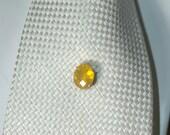 Huge Brazilian Fire Opal  Tie Tack
