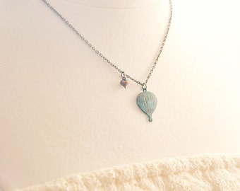 love is in the air necklace.