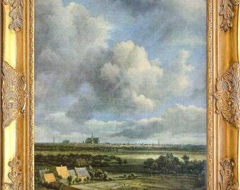 Gorgeous Pastoral Landscape, Framed, Print on Canvas